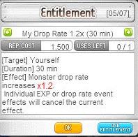 1.2x drop rate