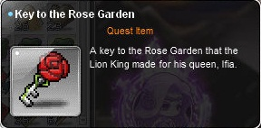 Key to the rose garden