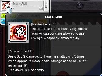 Mars skill